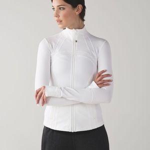 Lululemon define jacket in white size 2